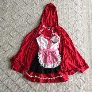 Women's Little Red Riding Hood costume